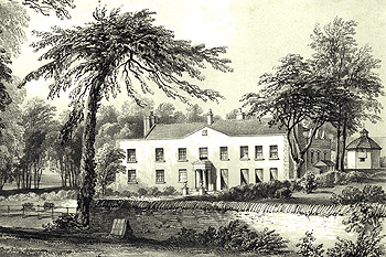 Milton Hall about 1850 [Z879/9]